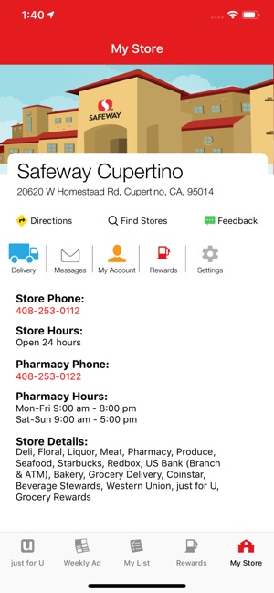 Safeway on the App Store