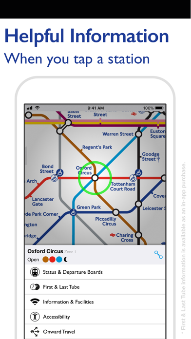 Screenshot for Tube Map - London Underground in Sweden App Store