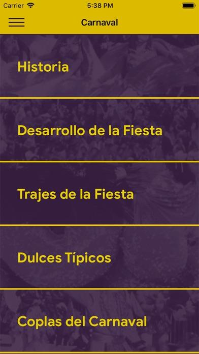 Screenshot for Carnaval de Cebreros in Ukraine App Store