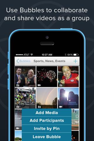 Burst - Mobile Video Platform - náhled