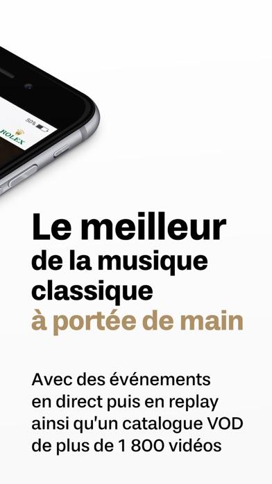 messages.download medici.tv, musique classique software