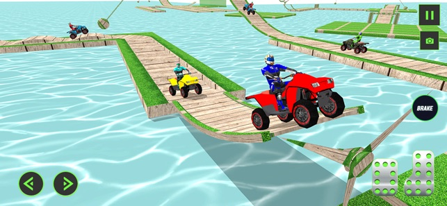 ATV Quad Bike Stunt Racing 3D