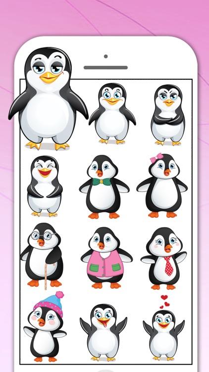 Penguin Sticker for iMessage