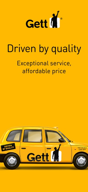 Gett - The Best Black Cabs on the App Store