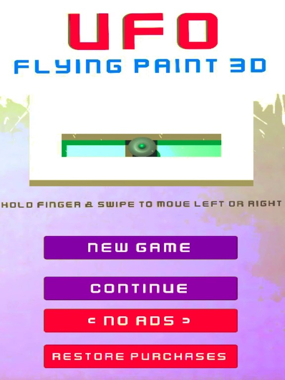 Flying Saucers - UFO Paint 3D screenshot #1