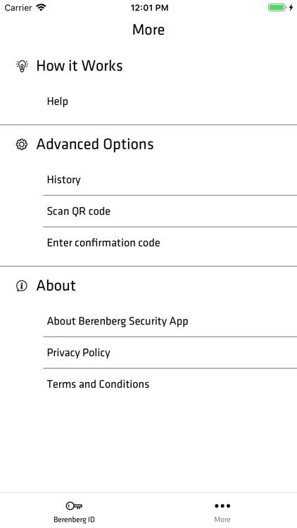 Berenberg Security App screenshot-4