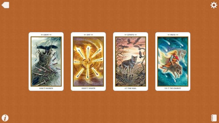Animals Divine Tarot screenshot-4