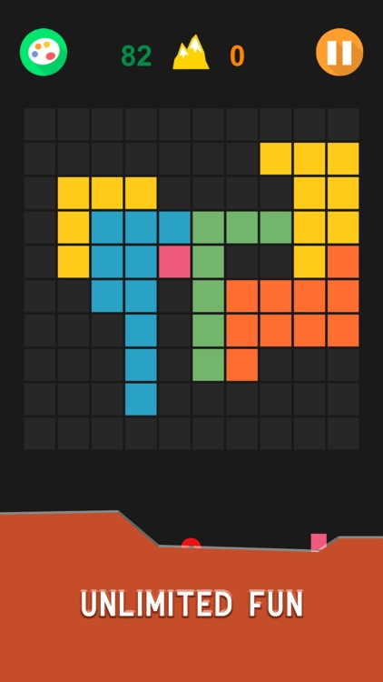 Hex & Square Block Puzzle Game screenshot-3