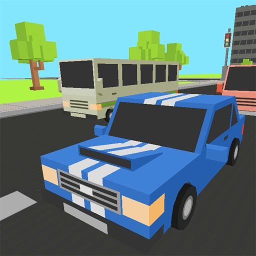 Pixel Racer Cars 3D