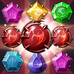 Jewels Dragon Quest - Match 3