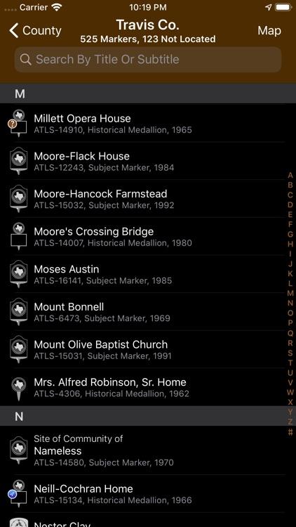 Texas Historical Marker Guide screenshot-6