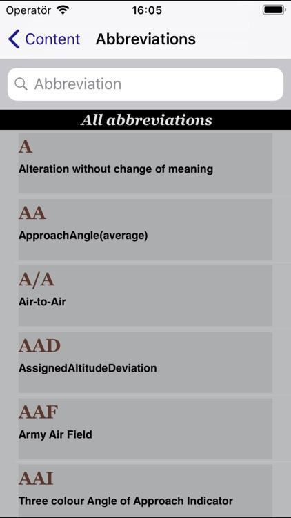 AviationCode screenshot-3
