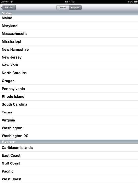 Tide Table for iPad screenshot-4