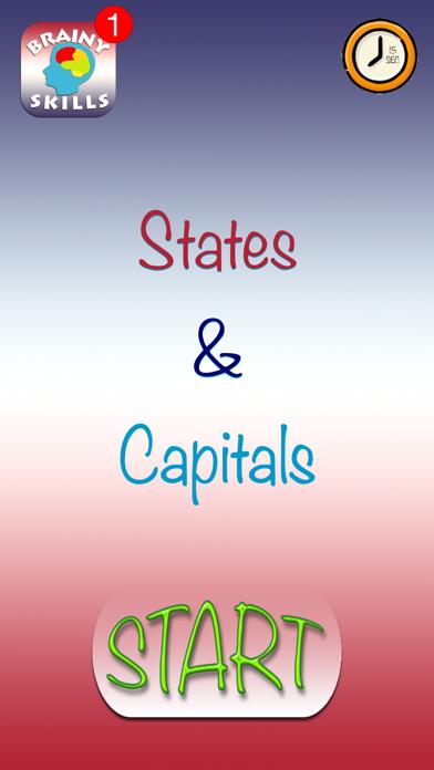 Brainy Skills States Capitals screenshot two