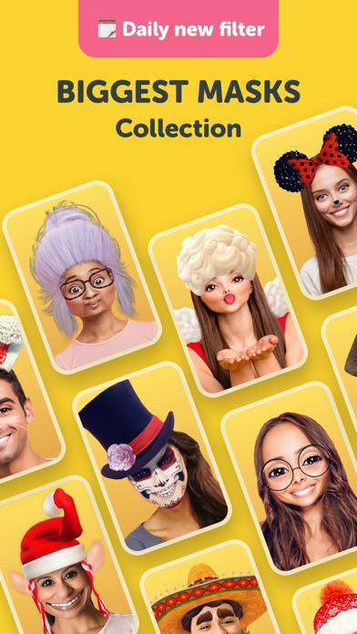 Banuba: Funny Face Filters app Screenshot