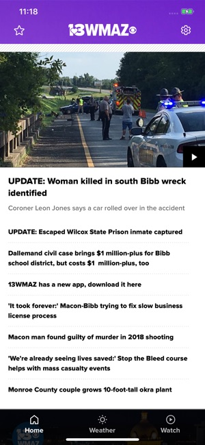 13WMAZ: Central Georgia News on the App Store
