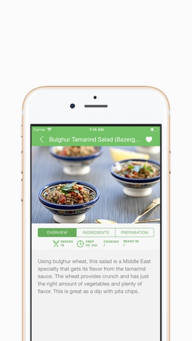 Screenshot for Sarina's Sephardic Cuisine in Korea App Store