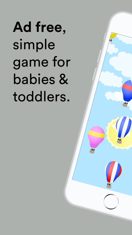 Hot Air Balloons for babies