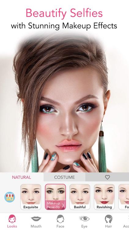 YouCam Makeup-Magic Selfie Cam screenshot-4