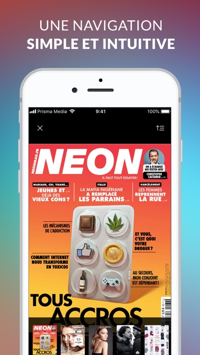NEON le magazine screenshot four