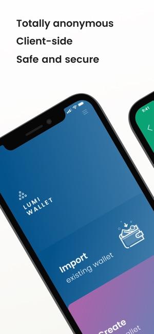 Lumi Blockchain Wallet on the App Store