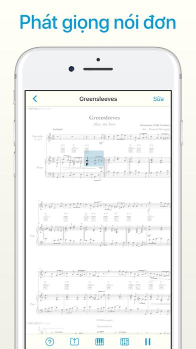 Screenshot for Sheet Music Scanner in Viet Nam App Store