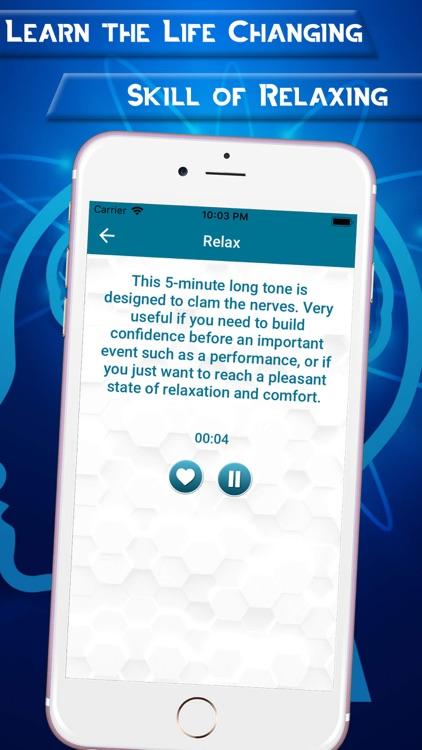 Isochronic Tones for Mind screenshot-3