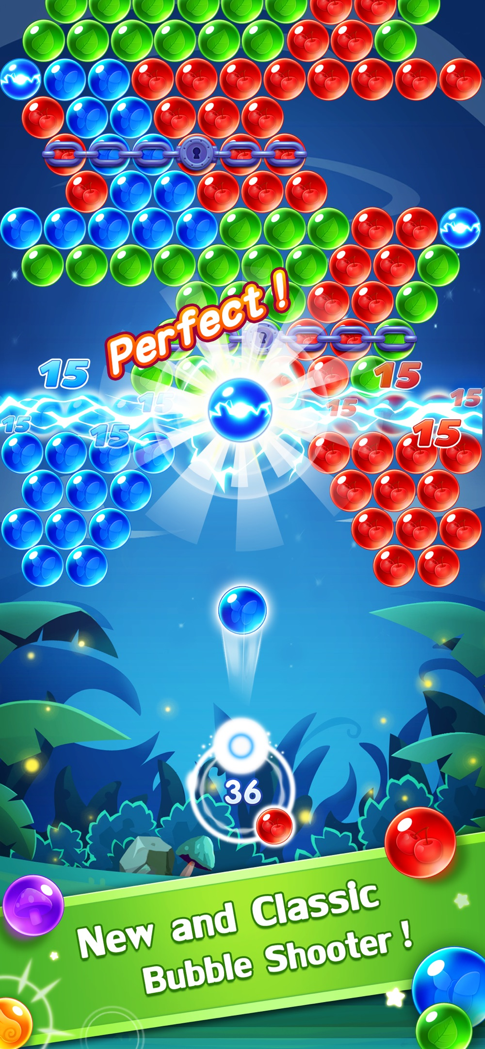 Bubble Shooter Genies Cheat Codes