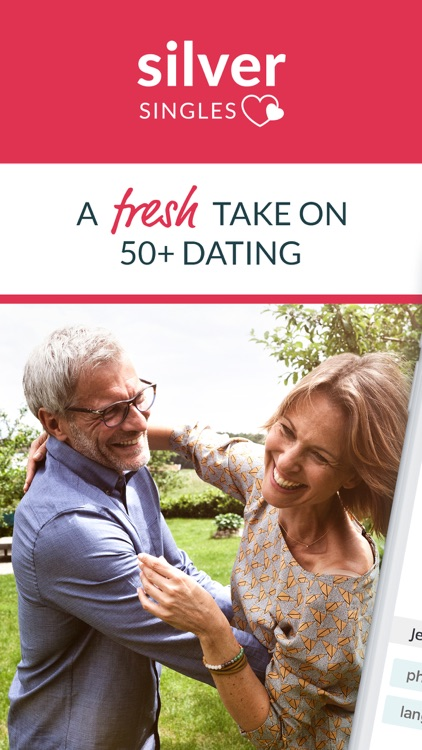 SilverSingles: Dating Over 50