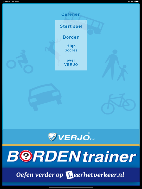 Bordentrainer iPad app afbeelding 2