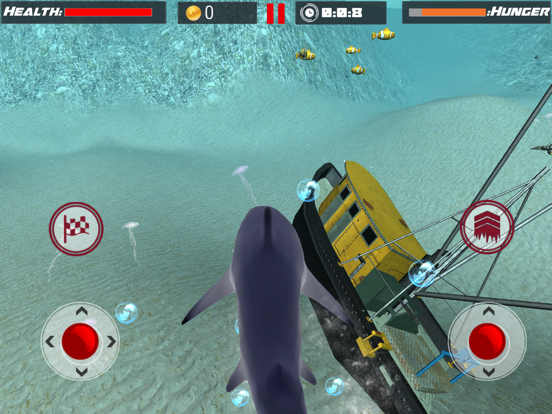 White Shark Sim : Great Attack-ipad-0