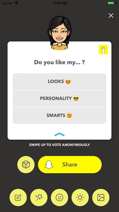 LMK: Anonymous Polls screenshot