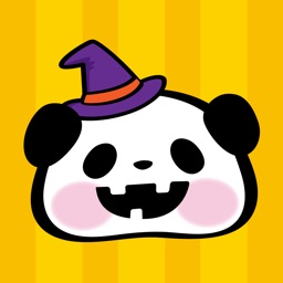 Pandaaa!!! Halloween Stickers
