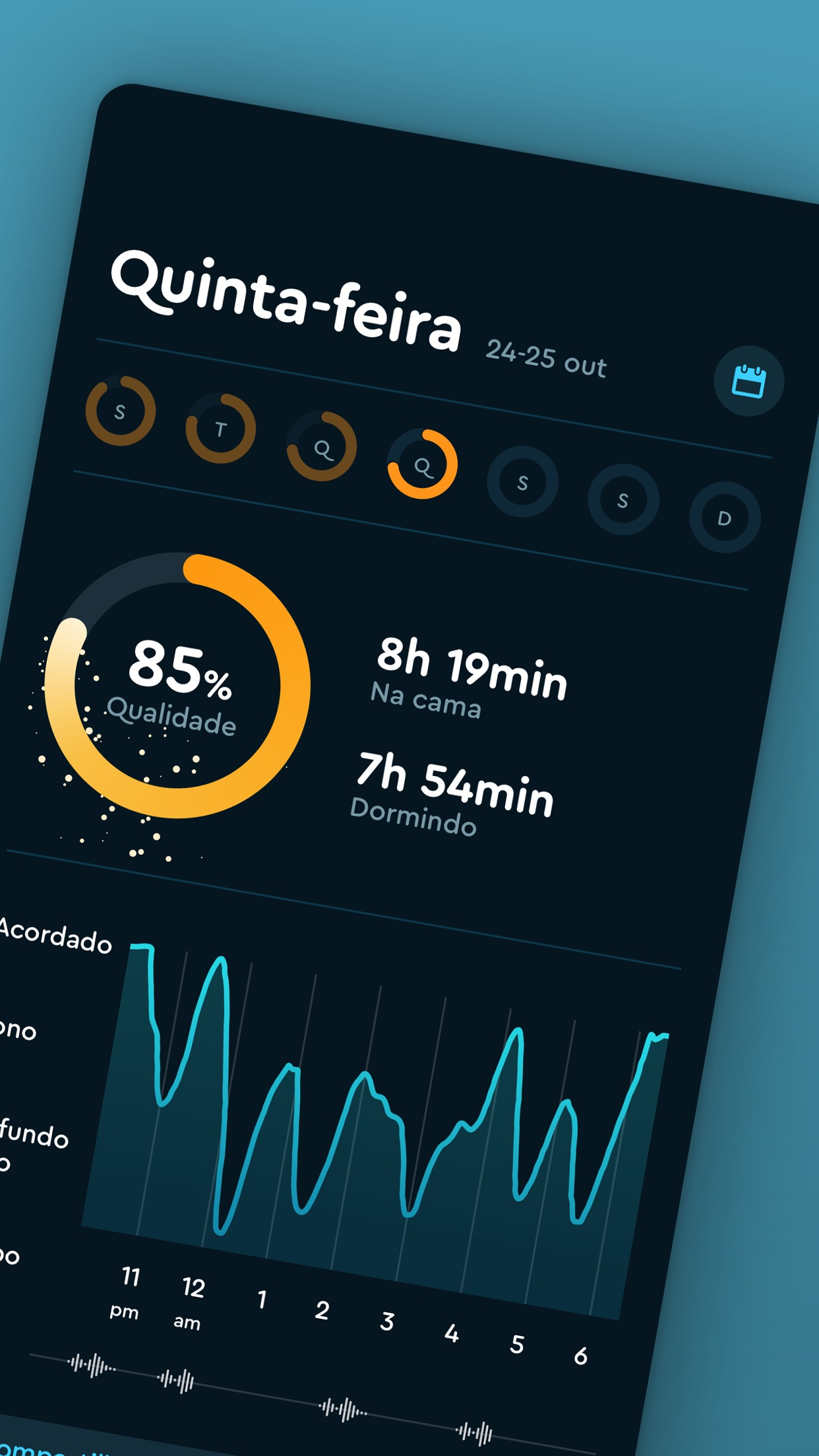 Screenshot do app Sleep Cycle - Sleep Tracker