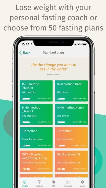 BodyFast Intermittent Fasting screenshot-3