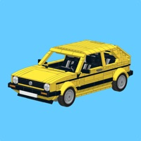 Codes for Yellow Golf Mk1 for LEGO Hack