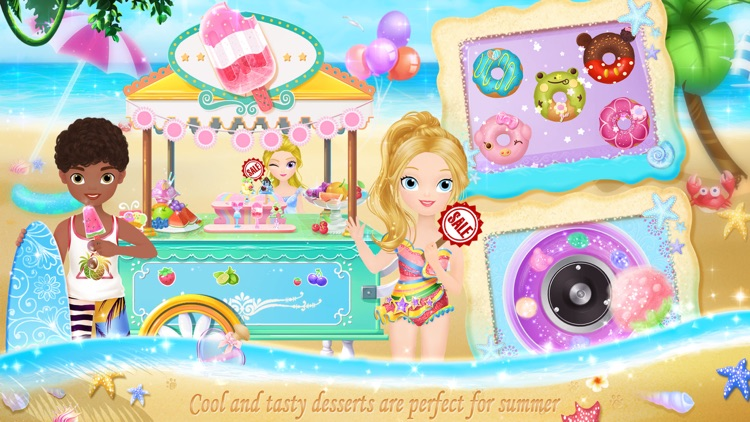 Princess Libby's Beach Day screenshot-3