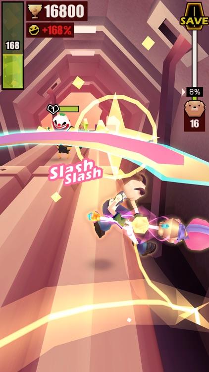战斗少女跑酷 screenshot-5