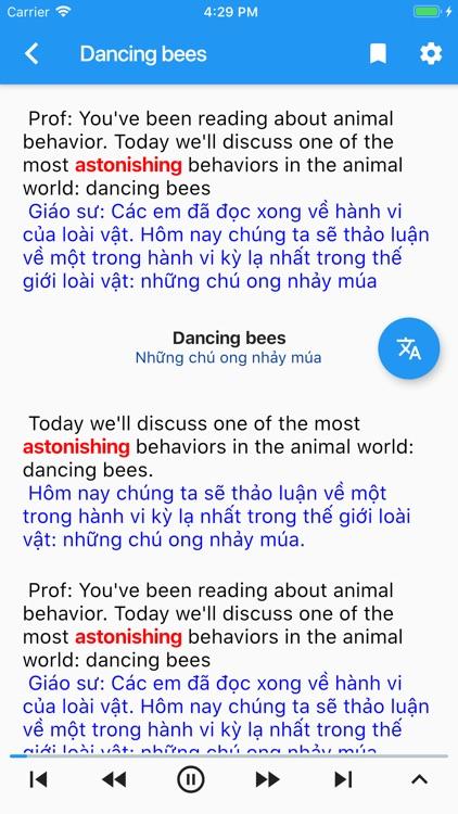 IELTS Song ngữ screenshot-5