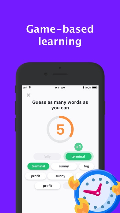Screenshot for Rocka: Learn English in Ireland App Store