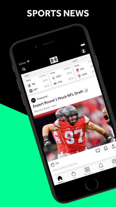 Screenshot for Bleacher Report: Sports News in United States App Store