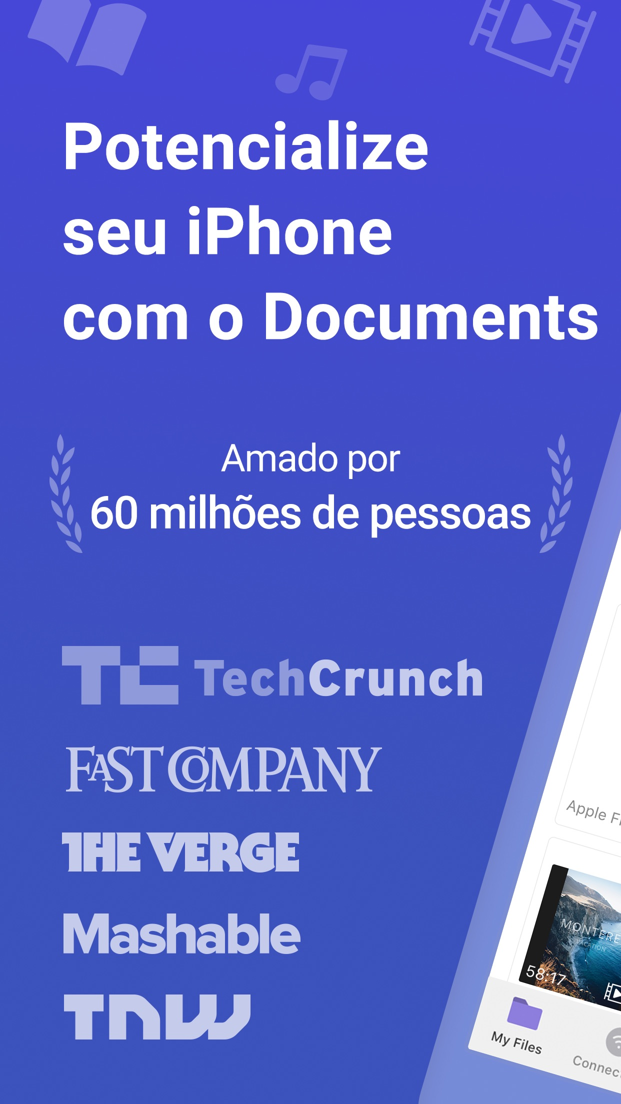 Screenshot do app Documents da Readdle