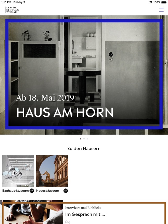 Bauhaus+ Screenshot