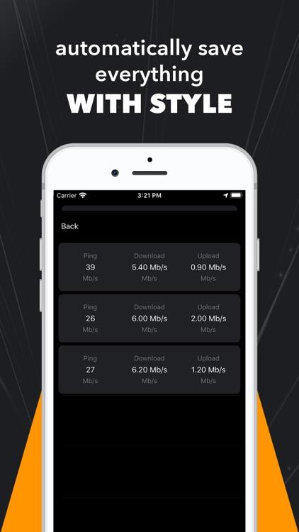 Speed Test - Wifi, 5G, 4G & 3G