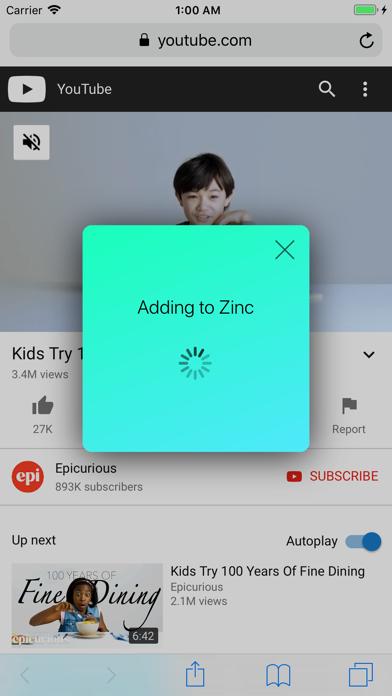Zinc - Video Bookmarksのおすすめ画像5