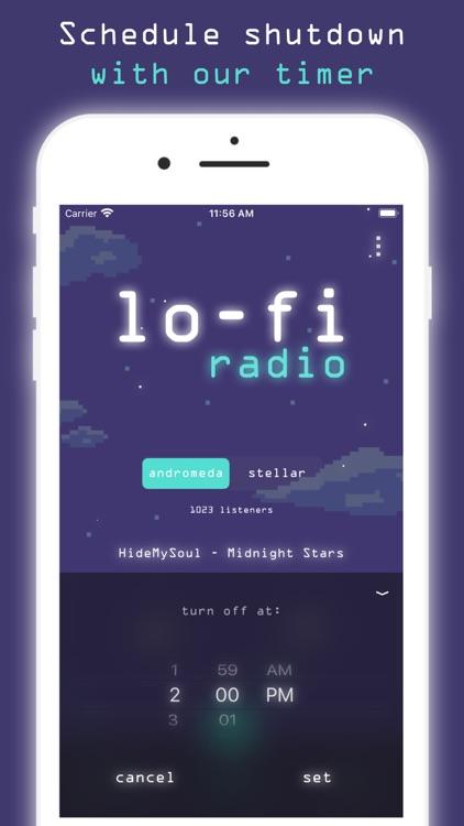 Lo-Fi Radio: Work,Study,Chill screenshot-3