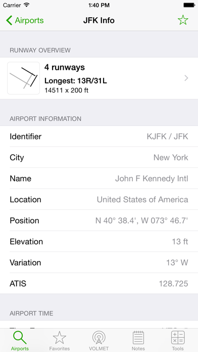 Airports review screenshots