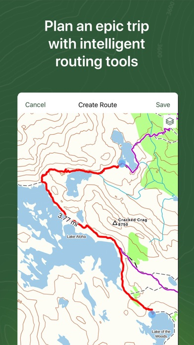 messages.download Gaia GPS Hiking, Hunting Maps software