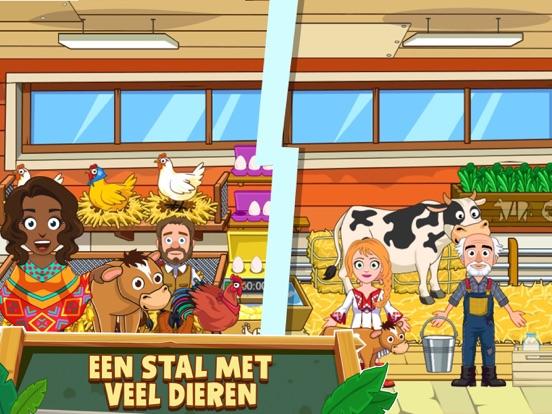 My Town : Farm iPad app afbeelding 2