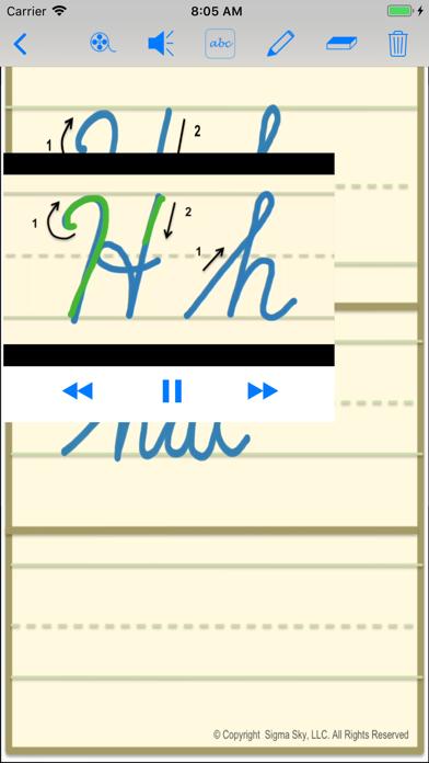 cursive screenshot 7